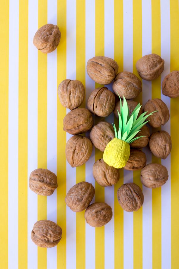 DIY Itty Bitty Pineapples