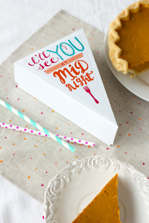 These printable pie labels are perfect for crazy Thanksgiving guests who have leftover pie. | Sweet Tooth