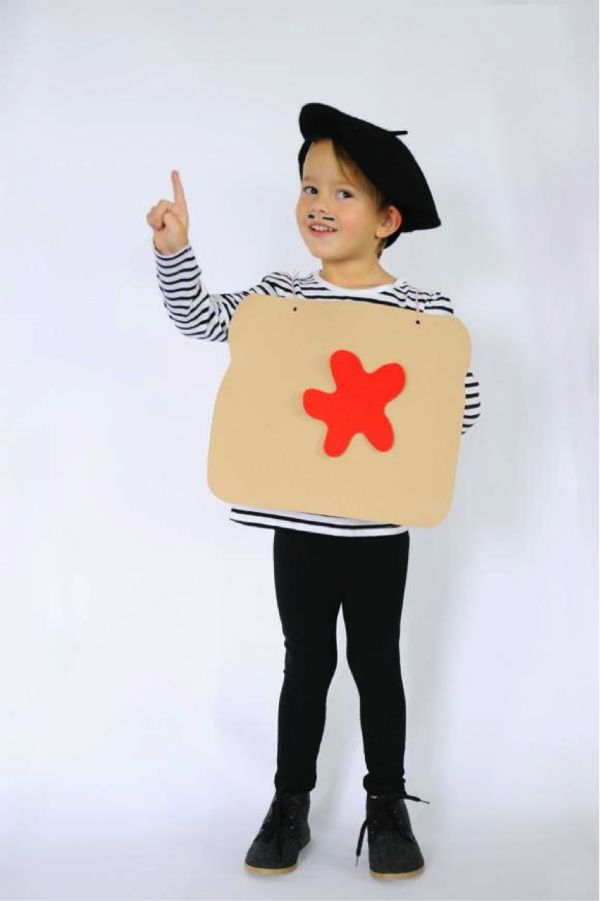 French Toast Costume from Small Fry Blog