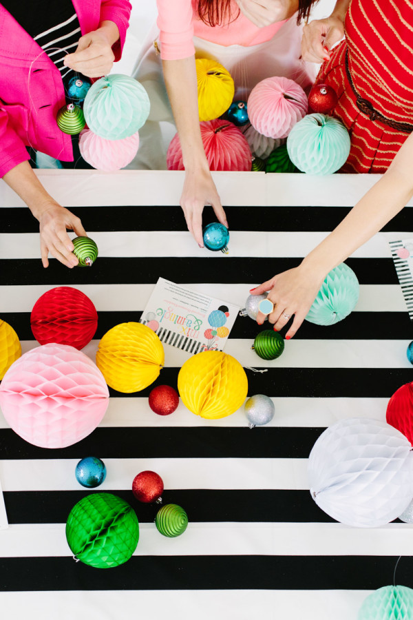 Modern Holiday Crafting Party