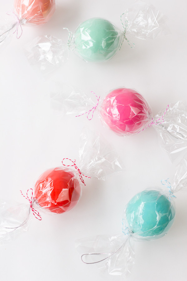 DIY Candy Ornaments