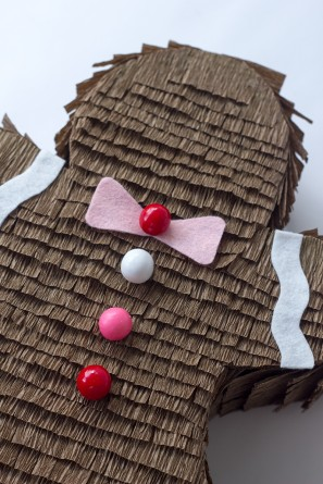 DIY Gingerbread Man Piñata