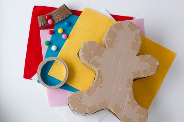 Gingerbread Man Piñata DIY