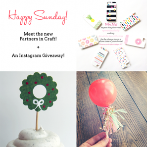 Win a Phone Case + Meet the Partners in Craft!