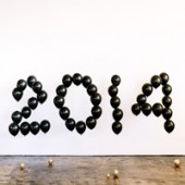 A Balloon-Filled New Year's Eve (+ An Exciting Partnership!)