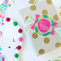 Free Printable Holiday Sweets Gift Tags