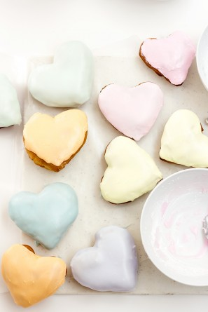 Conversation Heart Donuts