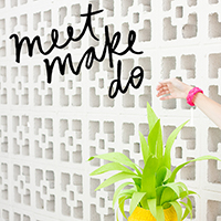 Meet/Make/Do: A Blogger Retreat in Palm Springs!