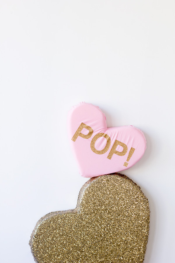 DIY Plush Conversation Heart