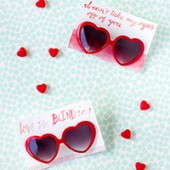 Free Printable Heart Sunglasses Valentines