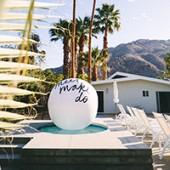 DIY Giant Beach Ball Message