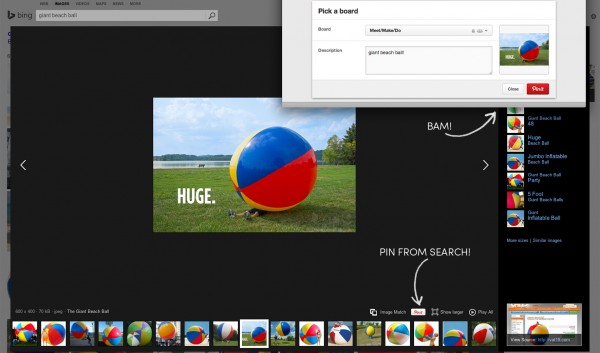 Giant Beach Ball Bing Search