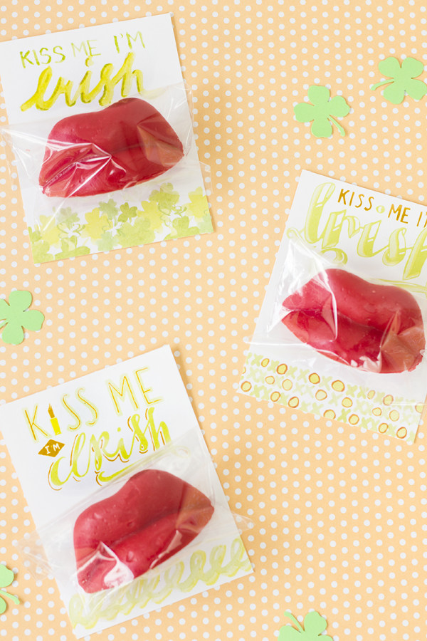 Kiss Me I'm Irish Free Printables