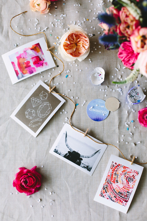 Mini Art Print Garland
