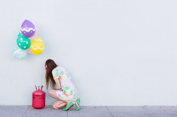 DIY Easter Egg Balloons