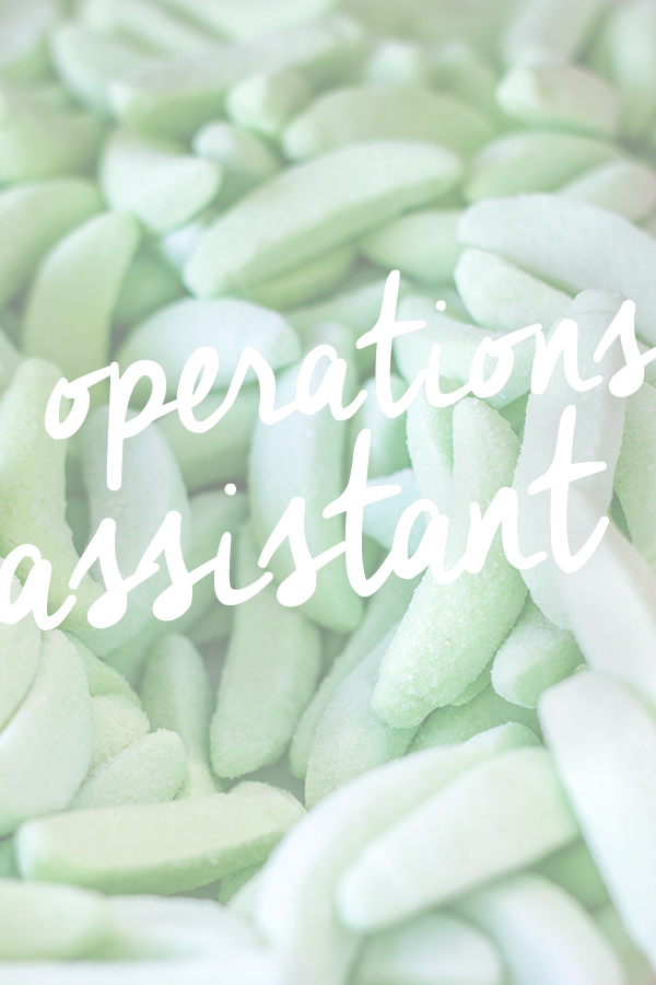 Studio DIY is Hiring - Operations Assistant