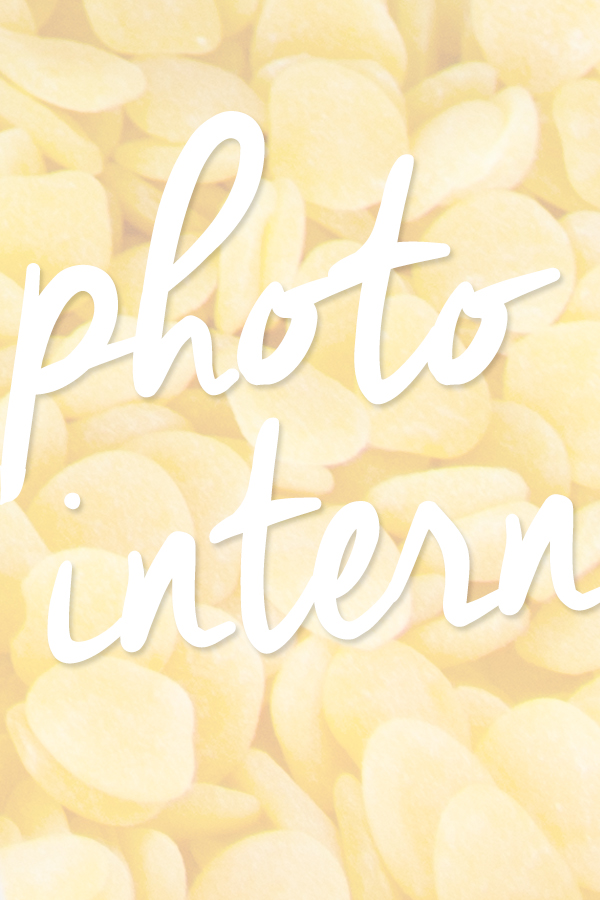 Studio DIY is Hiring - Photo Intern