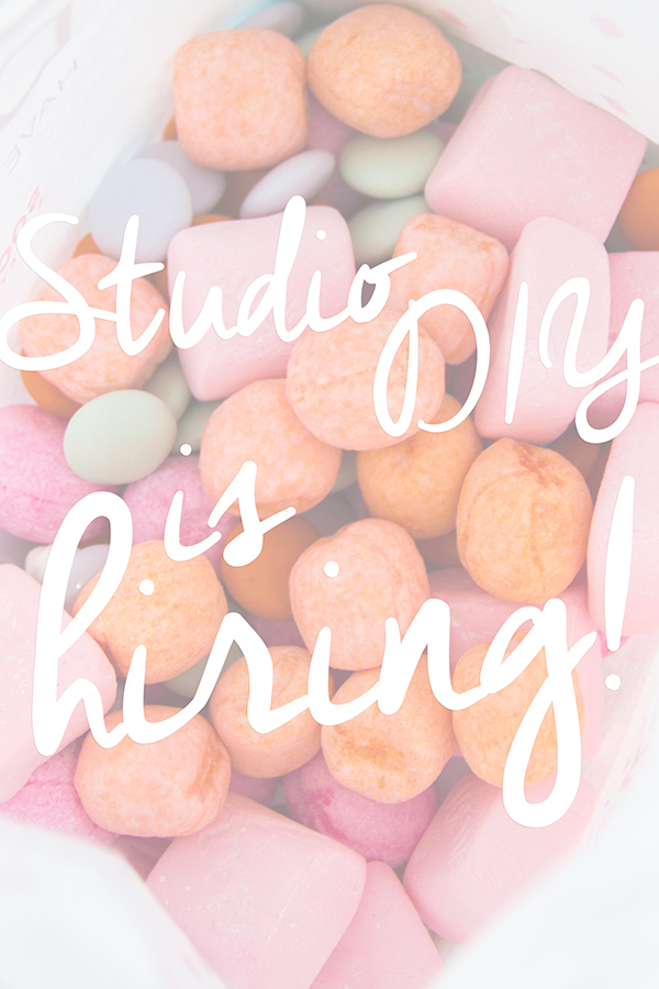 Studio DIY is Hiring!