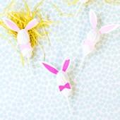 DIY Easter Bunny Lollipops