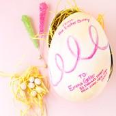 DIY Easter Egg-Gram