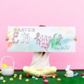 Free Printable Easter Egg Hunt Banner