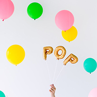"DIY About to ""POP!"" Baby Shower"