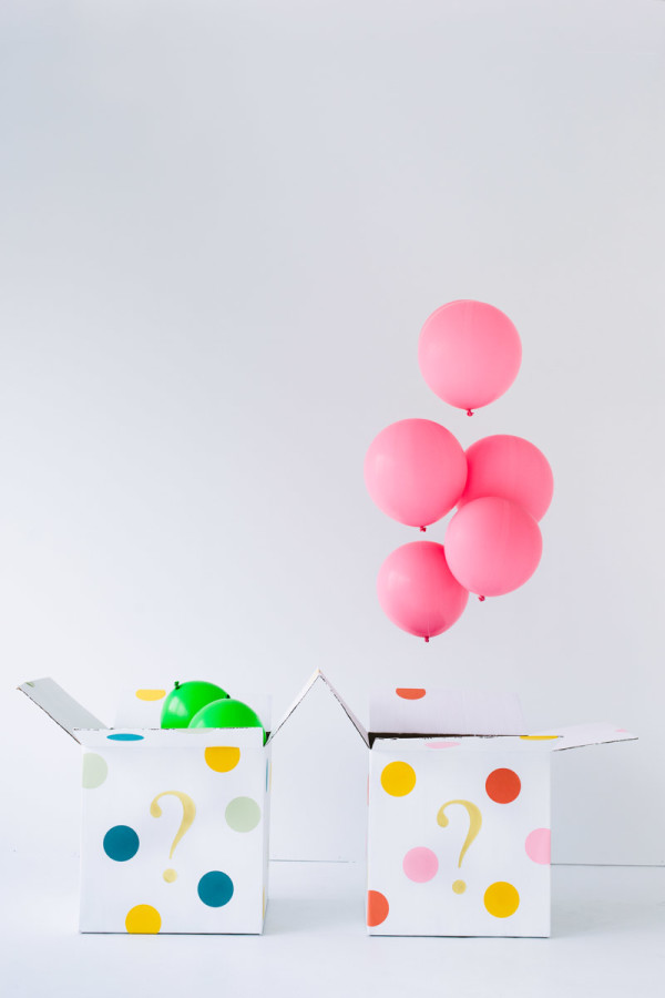 DIY Balloon Gender Reveal