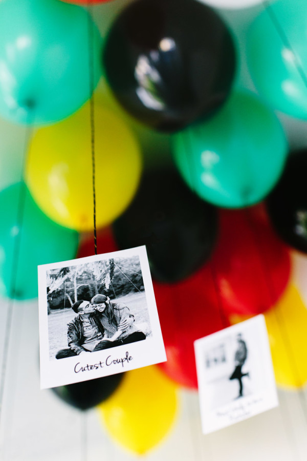 DIY Graduation Balloon Superlatives