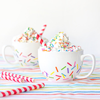 DIY Sprinkle Mugs
