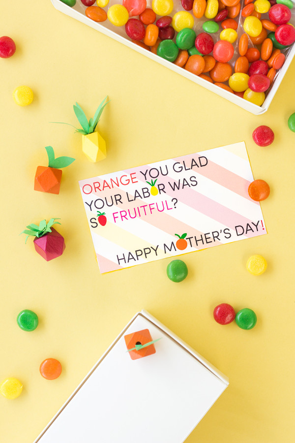 """Fruitful"" Mother's Day Printables"