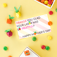 """Fruitful"" Mother's Day Free Printables"
