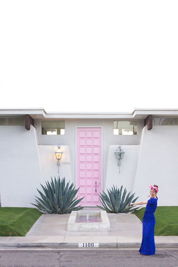 Pink Door Palm Springs