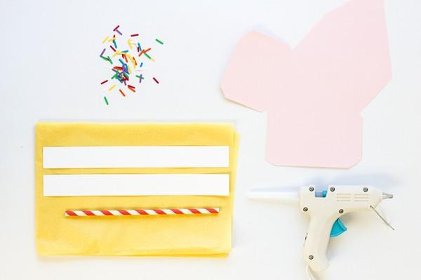 DIY Birthday Cake Box