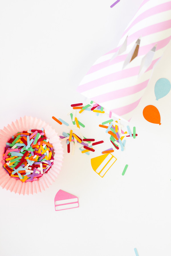 DIY Birthday Confetti