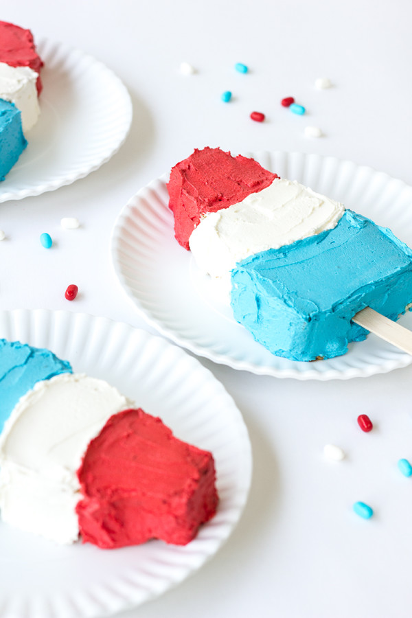 Summer Ice Pop Cakes