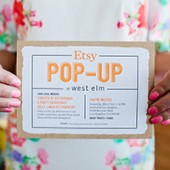 Etsy Pop-Up at West Elm LA (A Recap!)