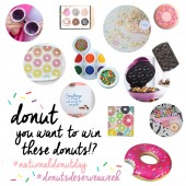 Happy National Donut Day! (+ A Donut Giveaway!)