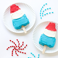 Summer Ice Pop Cakes