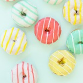 Striped Donuts