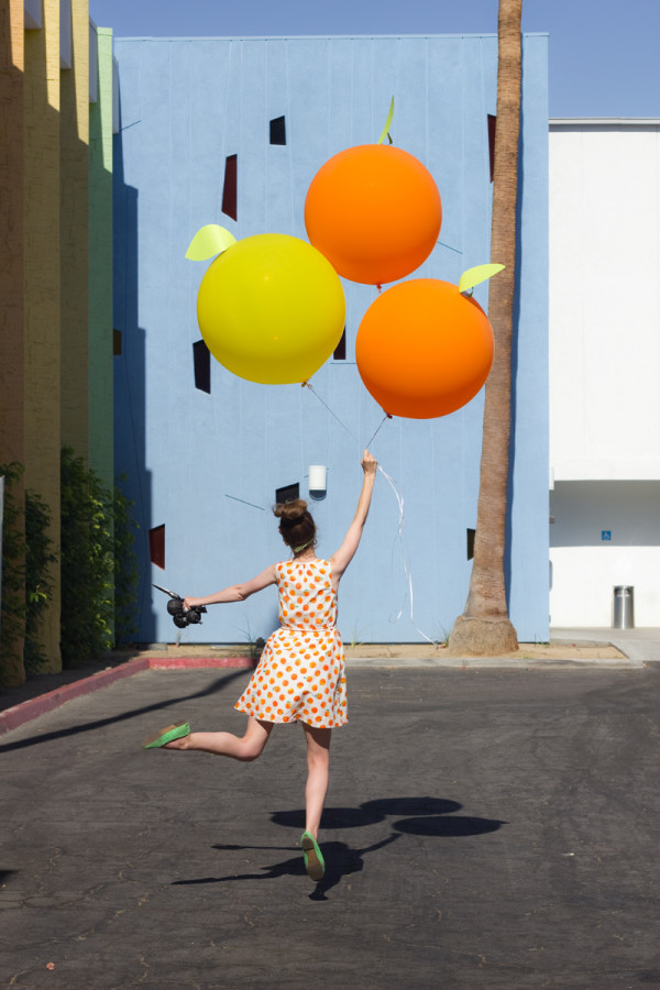 DIY Citrus Balloons