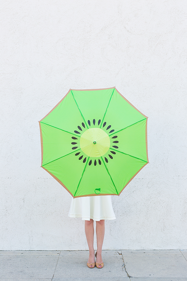 DIY Kiwi Umbrella