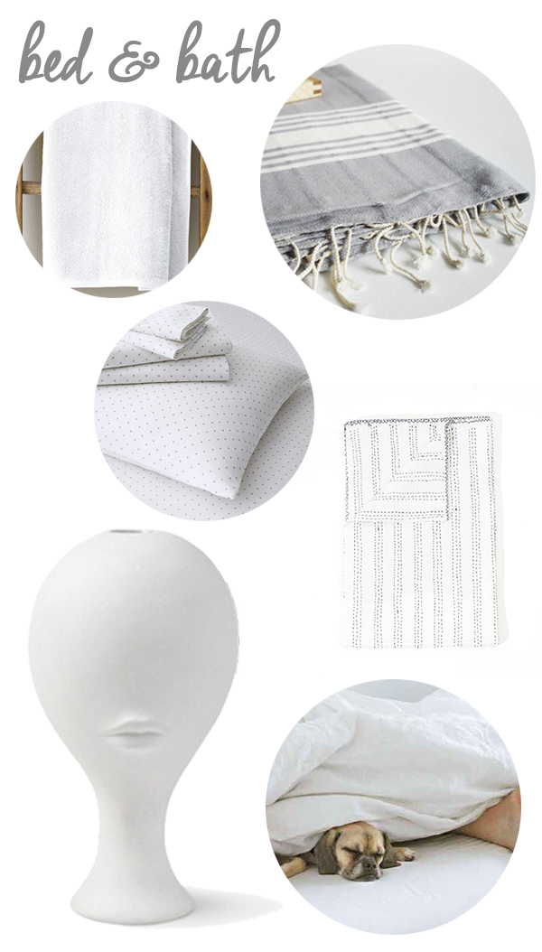 Non-Traditional Bed and Bath Wedding Registry Ideas