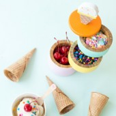 DIY Ice Cream Caddy