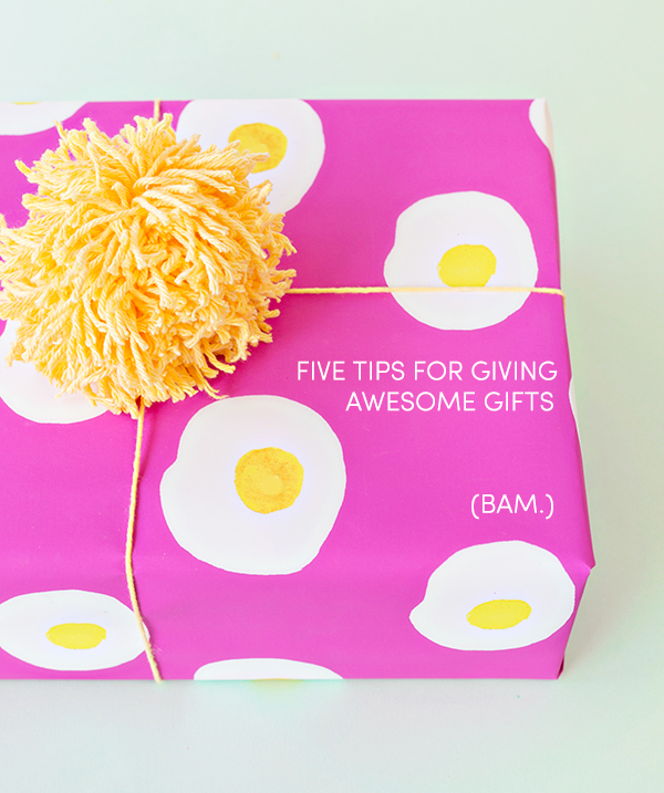 Five Tips for Giving Awesome Gifts