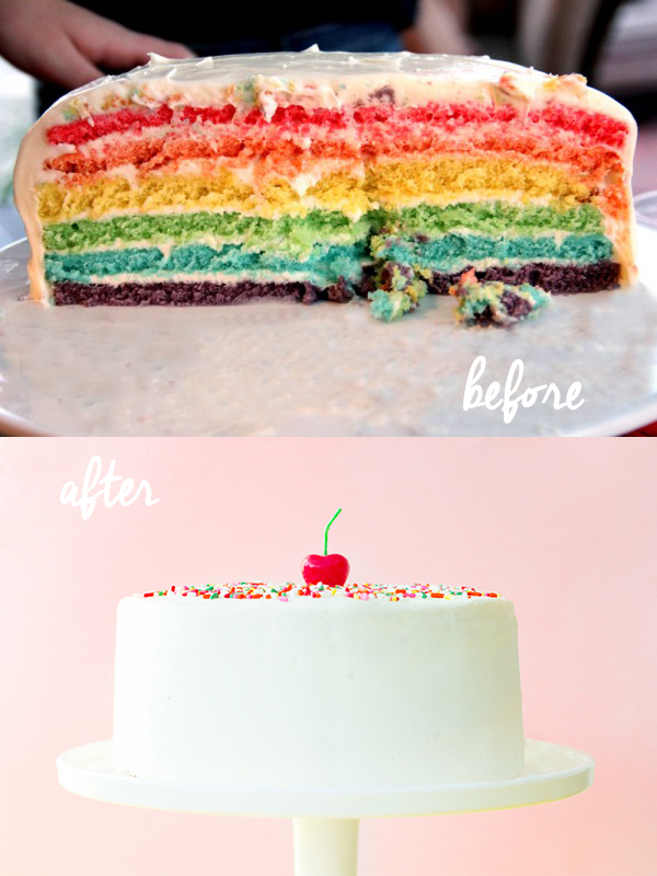 Before and After Cake Class