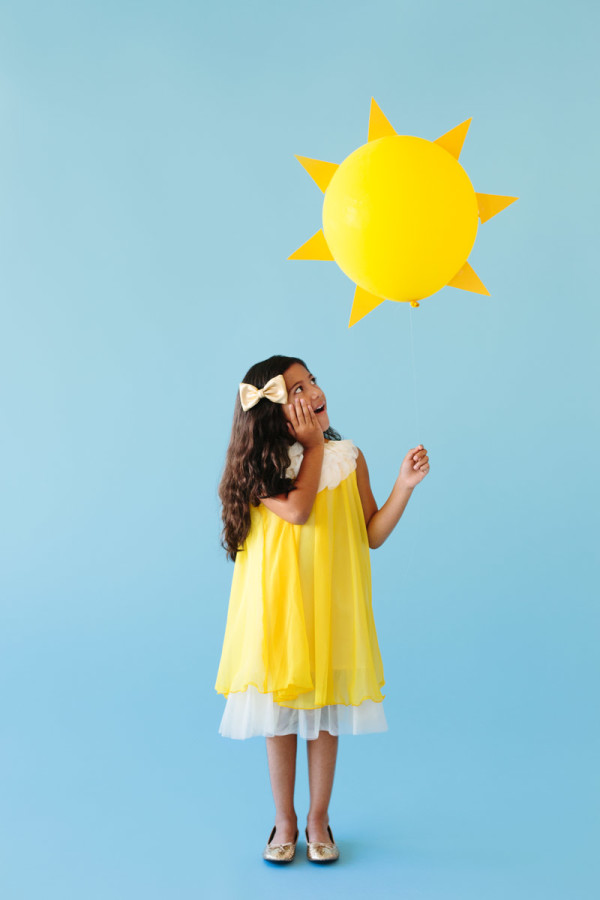 DIY Ray of Sunshine Costume