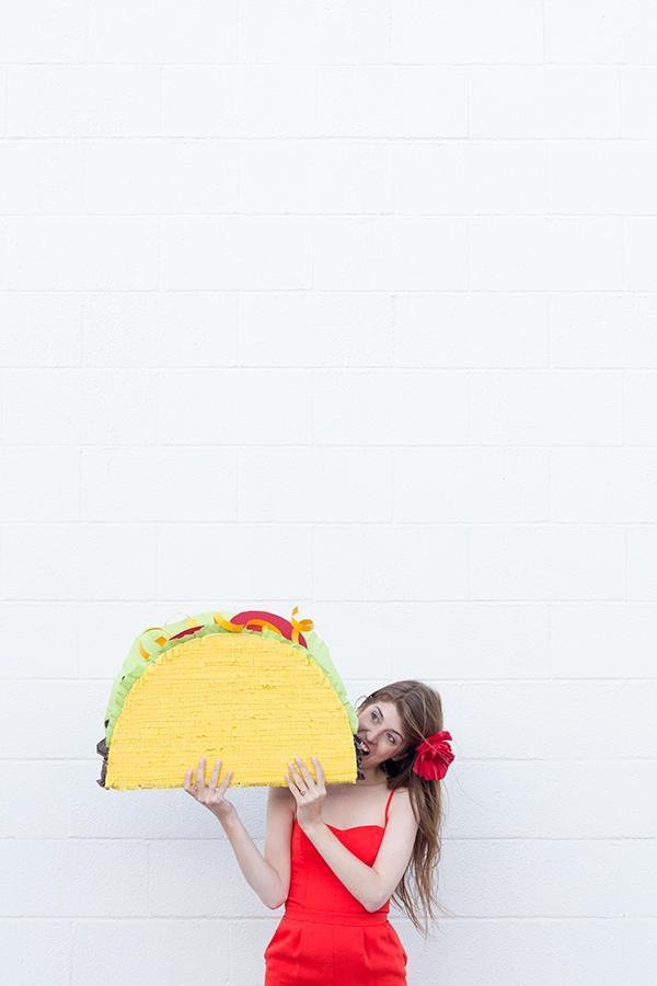 Taco Piñata DIY