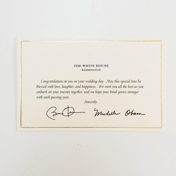 White House Wedding RSVP