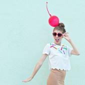 DIY Ice Cream Cone Costume