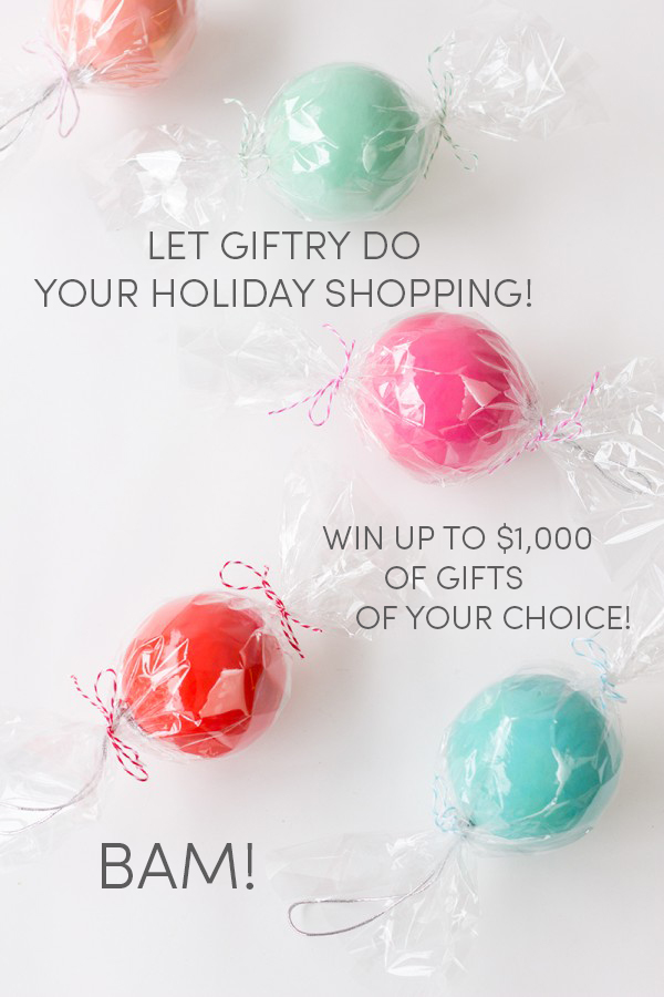 Giftry Holiday Shopping Giveaway